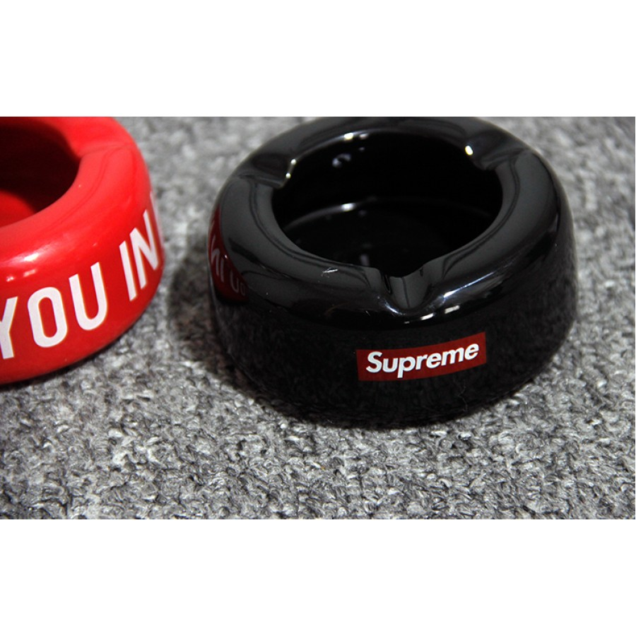 Supreme 11aw See You In Hell Ceramic Ashtray (Black)