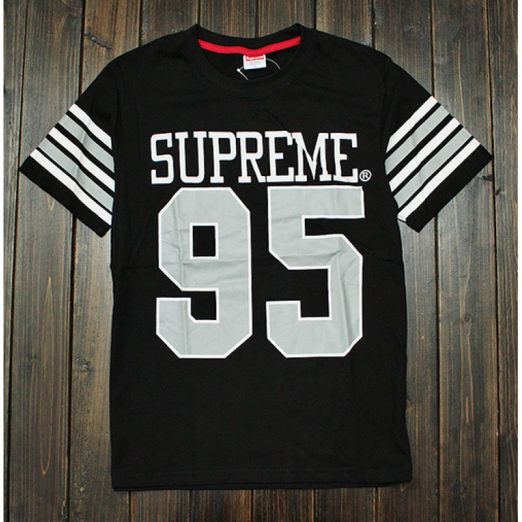 Supreme 95 Baseball T-Shirt (Black)