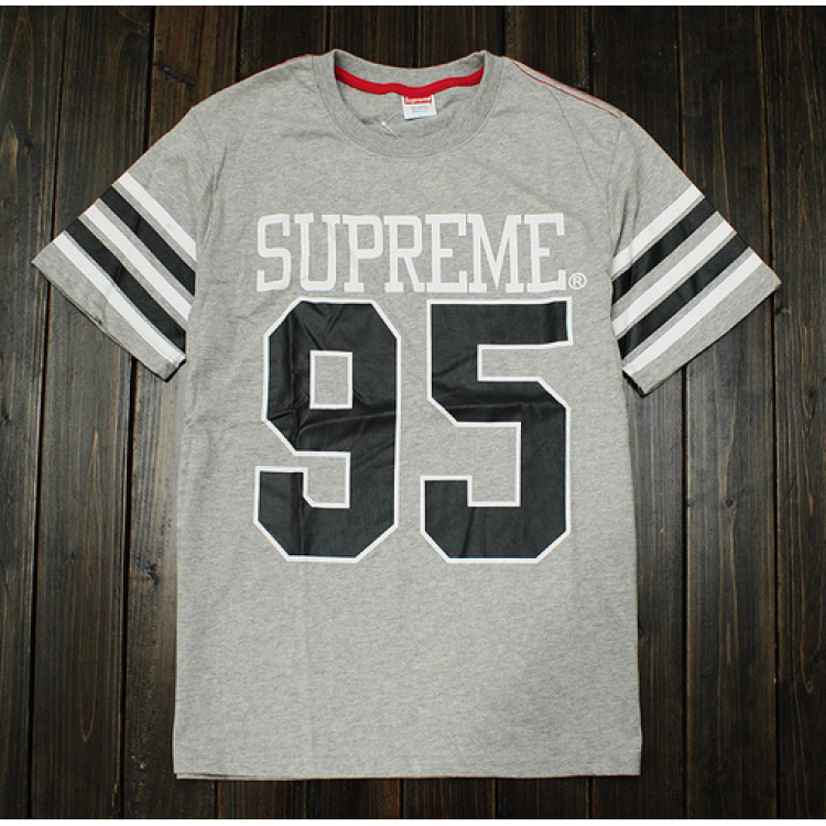 Supreme 95 Baseball T-Shirt (Gray)