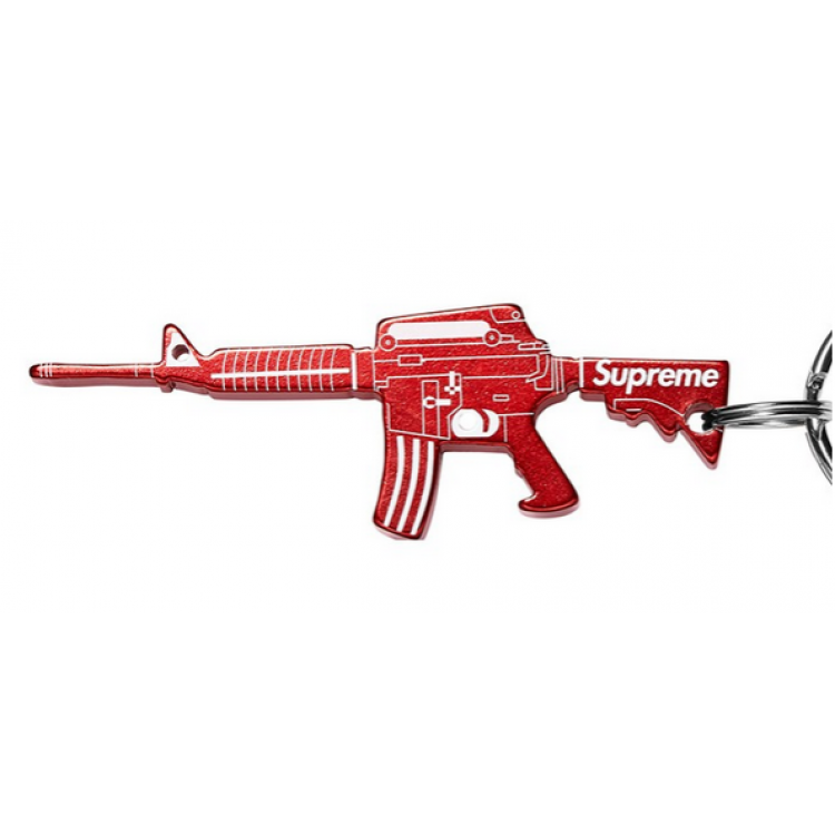 Supreme AK Key Chain (Red/White)