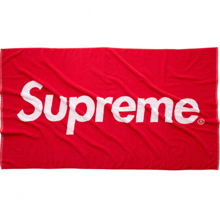 Supreme Abstract Beach Towel (Red)