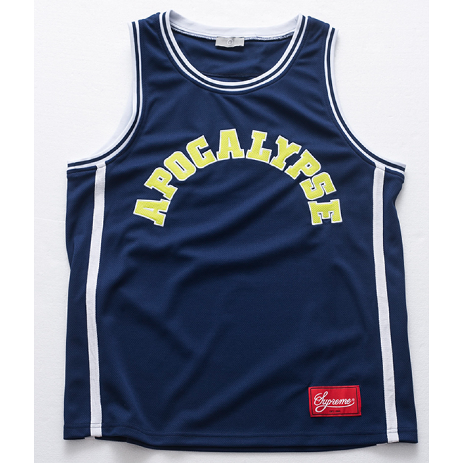Supreme Apocalypse Tank Top (Navy)