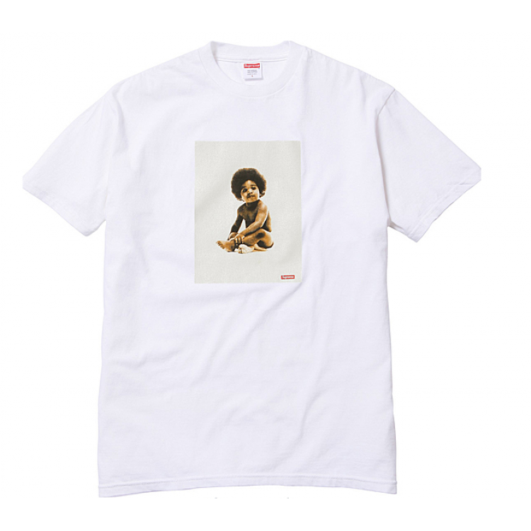 Supreme Biggie NYC Box T-Shirt (White)