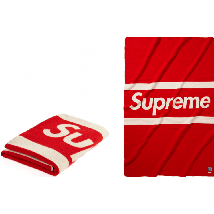 Supreme Blanket (Red/White)