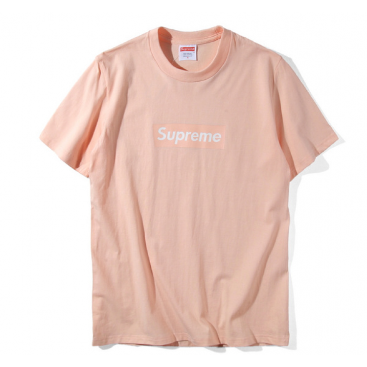 Supreme Box Logo Classic T-Shirt (Peach)
