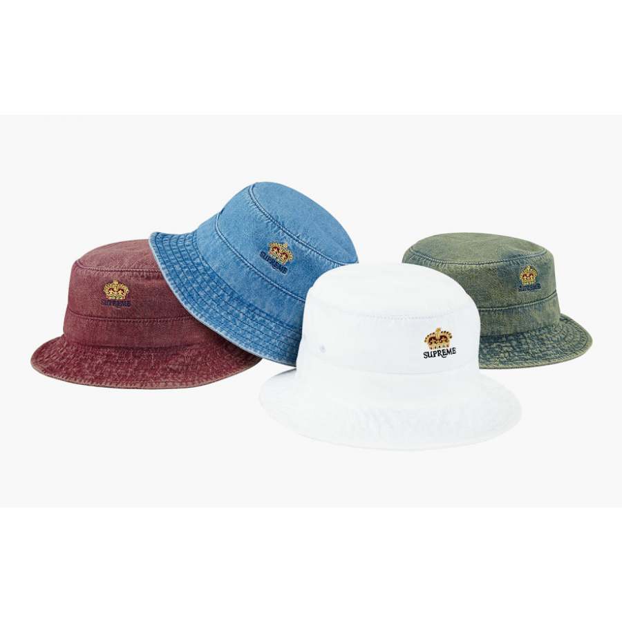 Supreme Bucket Denim Crusher Hats Collection (Multicolor)