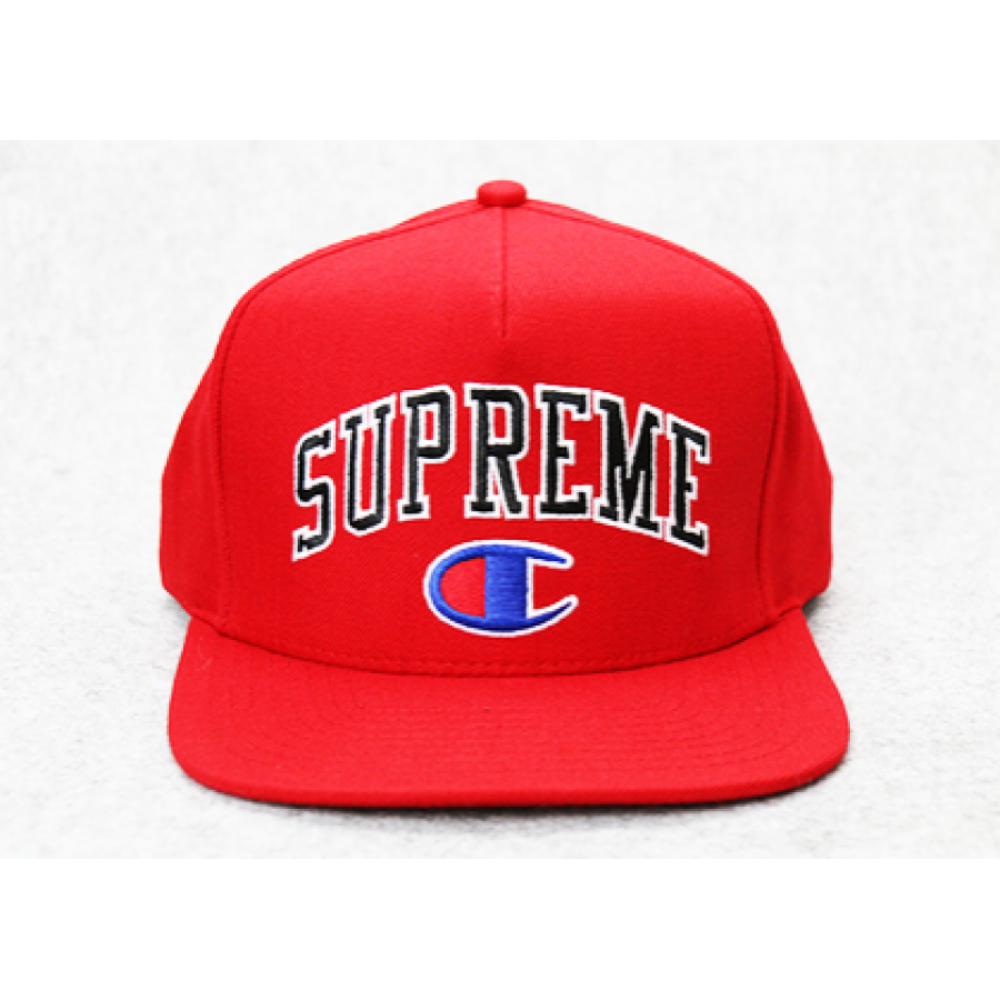 Supreme Champion Snapback Hat (Red)