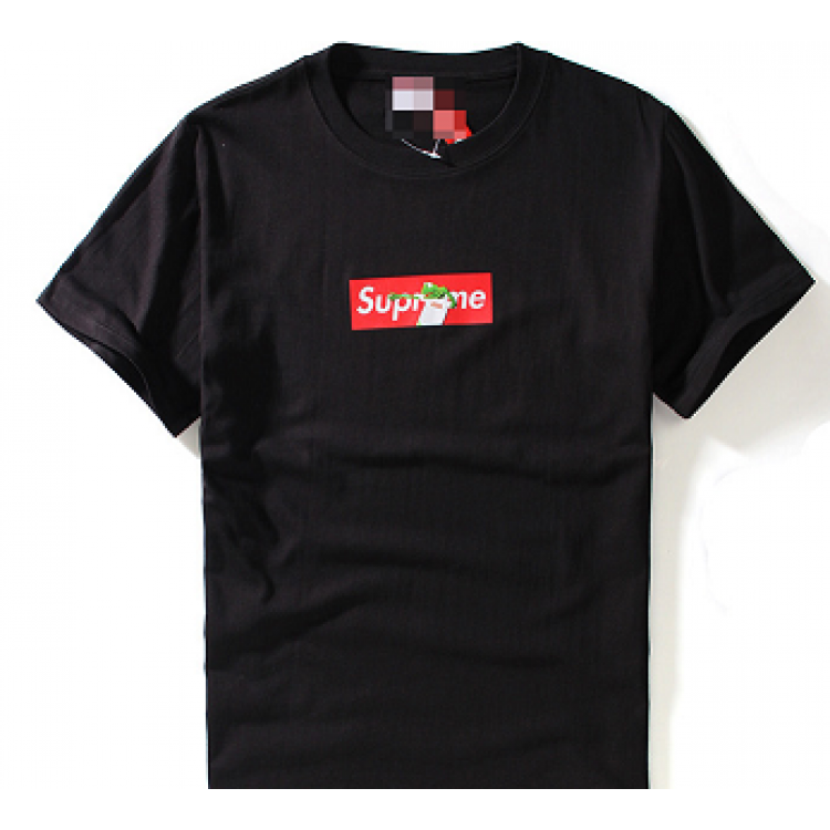 Supreme Kermit Frog Box T-shirt (Black)