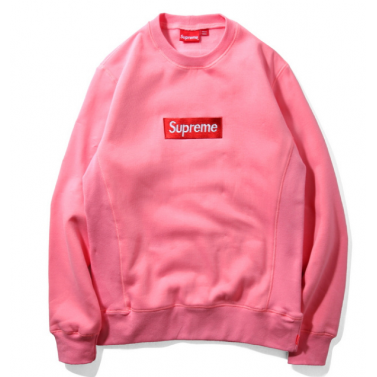 Supreme Label Sweater (Pink)