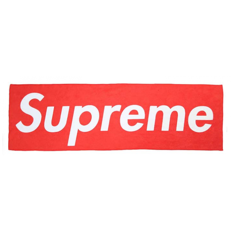 Supreme Logo Towel (Red)