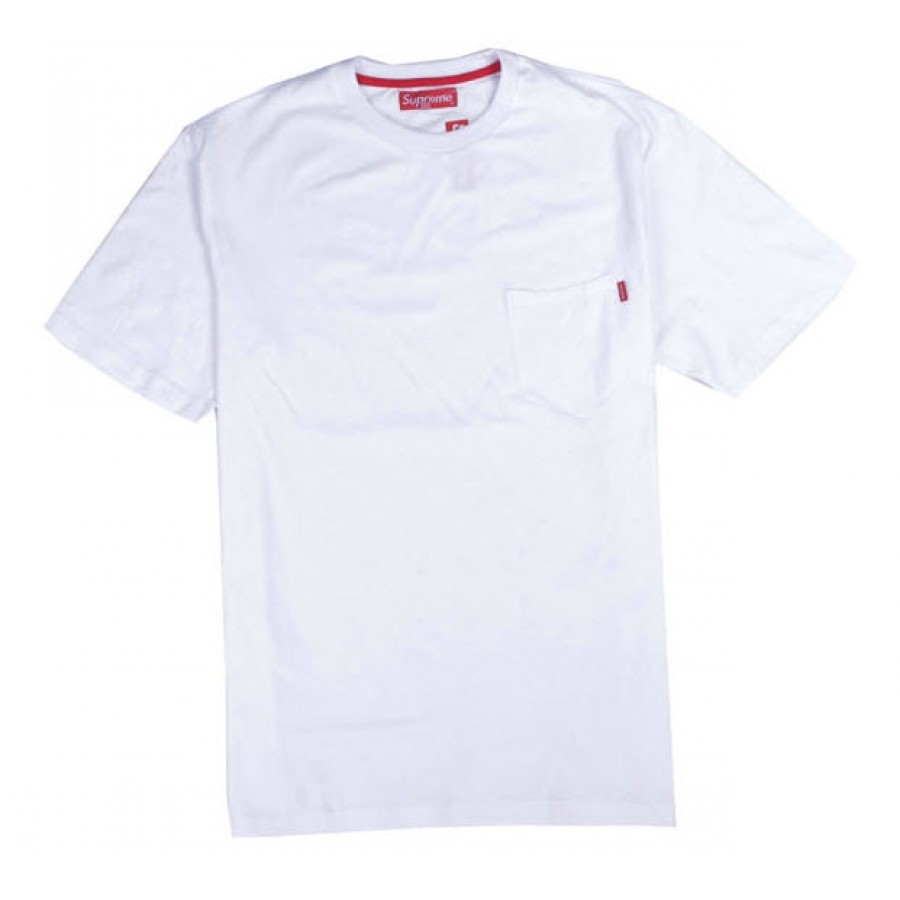 "Supreme ""NYC Pocket"" T-Shirt (White)"