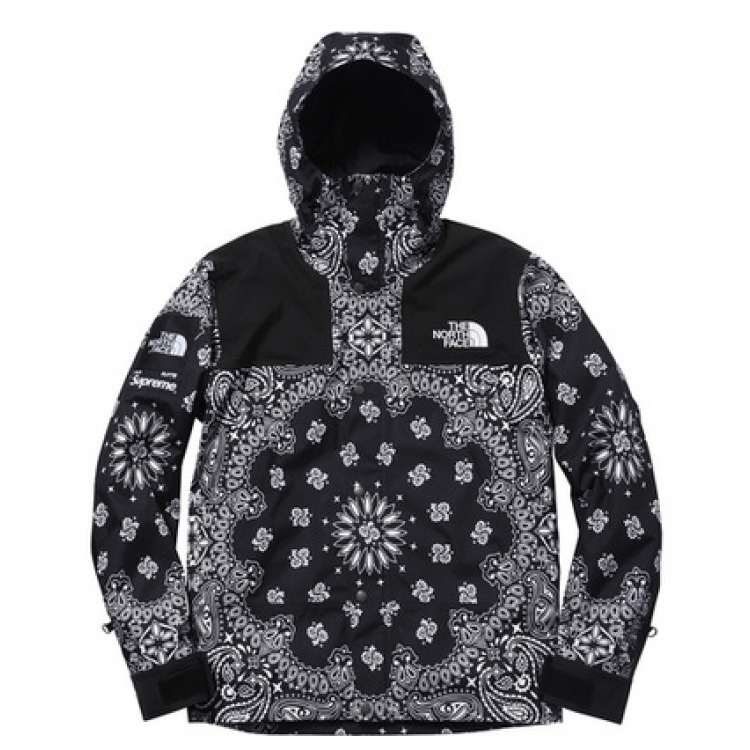 Supreme North Face NF Paisley Wind Jacket (Black)
