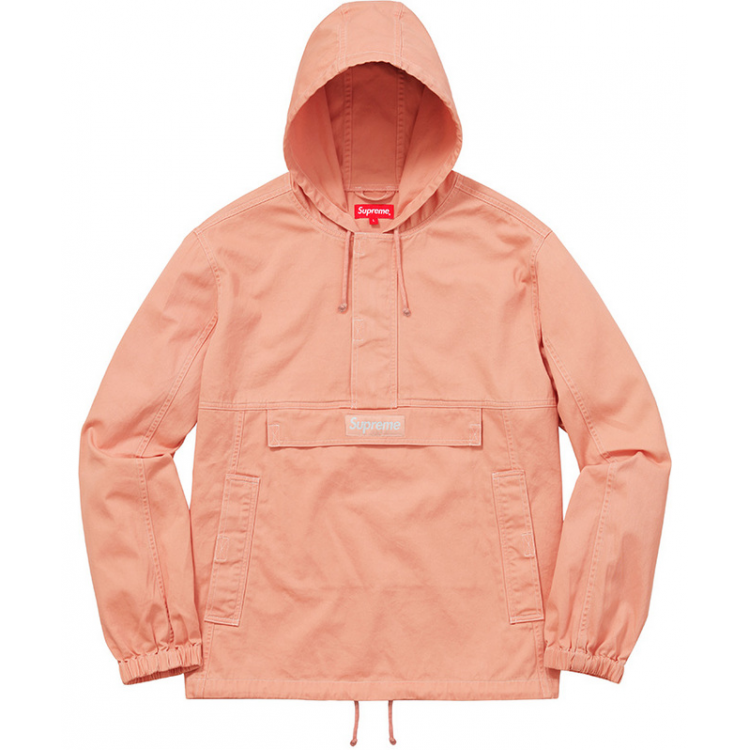 Supreme Plain Hooded Jacket (Orange)