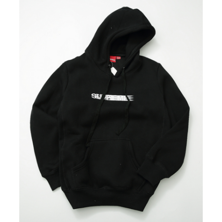 Supreme Shaded Logo Hoodie (Black)