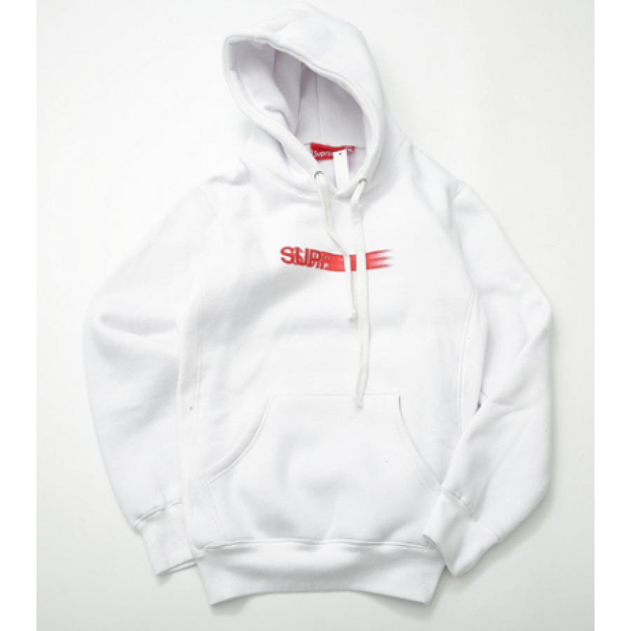 Supreme Shaded Logo Hoodie (White)