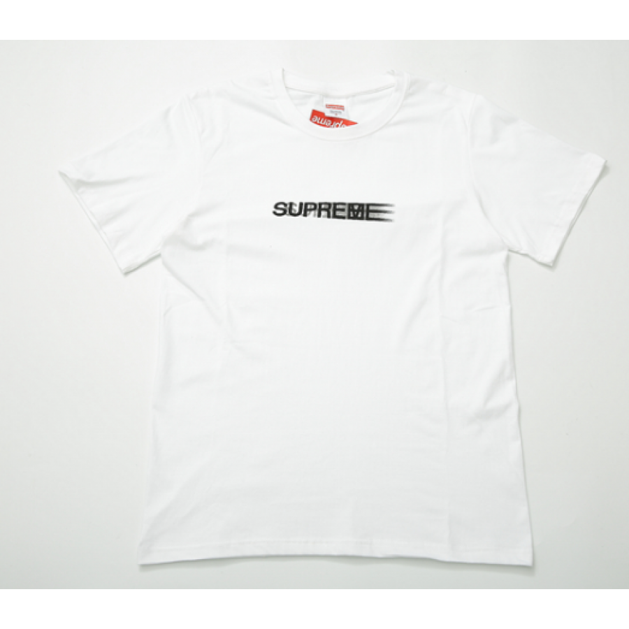 Supreme Shaded Logo T-Shirt (White)