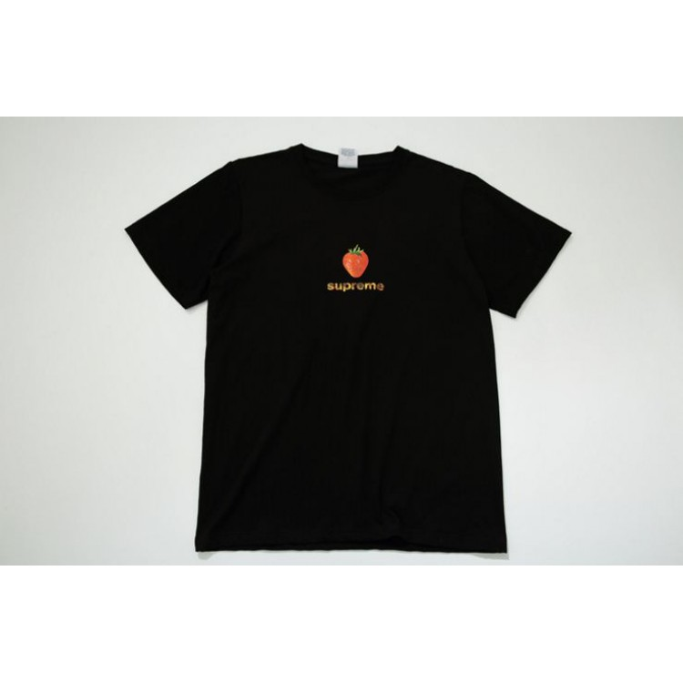 Supreme Strawberry Flame T-Shirt (Black)