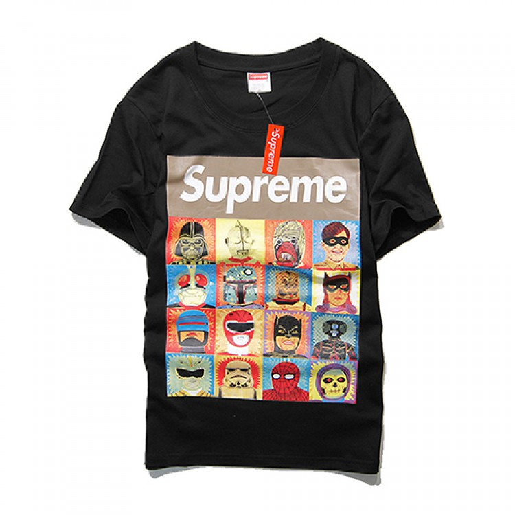Supreme Superheroes T-shirt (Black)