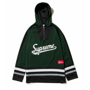 Supreme Hockey Jersey Shirt (Olive)