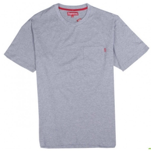 Supreme NYC Pocket T-shirt (Gray)