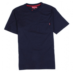 Supreme NYC Pocket T-shirt (Navy)