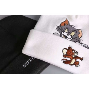 Tom Jerry Supreme Beanie (White)