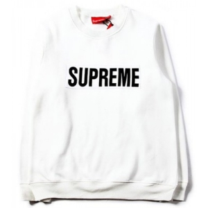 Supreme Box Logo Marathon Sweater (White)