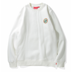 Supreme Color Circle Sweater (White)