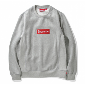 Supreme Label Sweater (Gray)